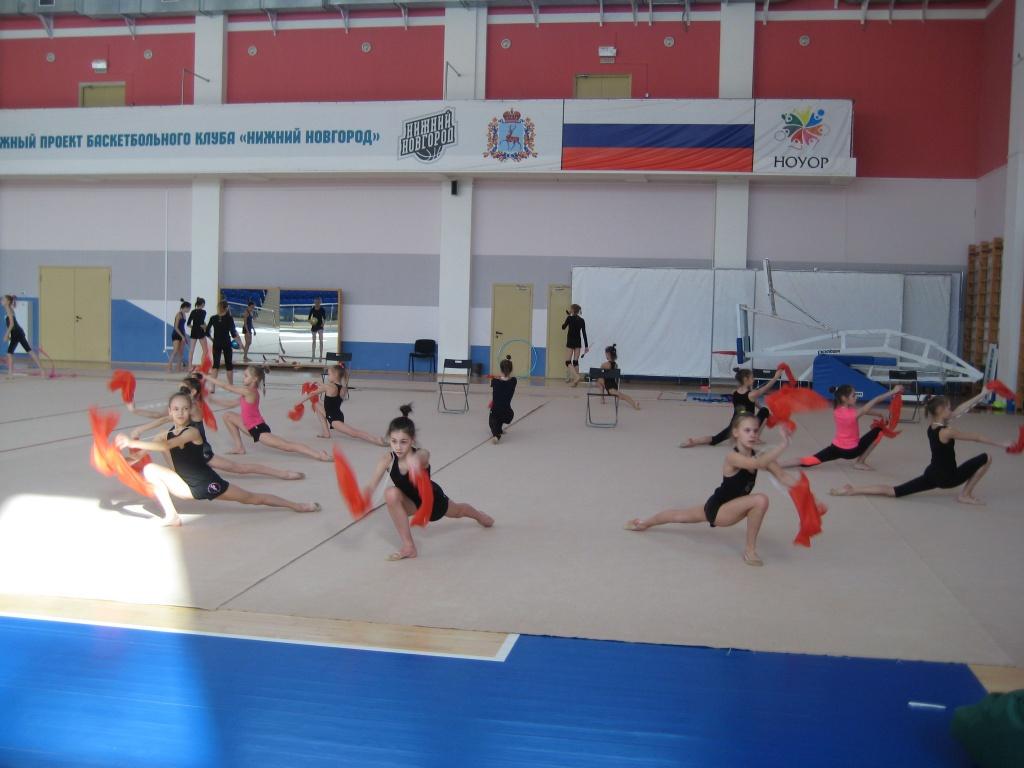 Подготовка к юбилейному Фестивалю по художественной гимнастике «АЛИНА-2018»